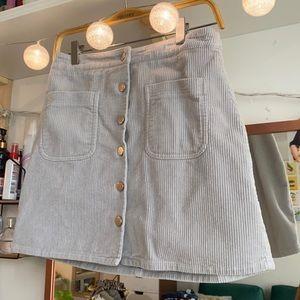 Twik corduroy skirt